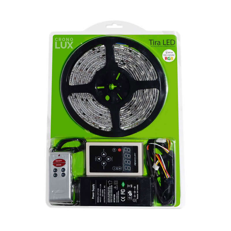 KIT Tira MAGIC LED SMD5050, 5m (30 Led/m), RGB - IP67, RGB